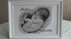 Metryczka haftem krzyżykowym Cross Stitch, Interiors, Bebe, Birth, Punto De Cruz, Seed Stitch, Cross Stitches, Crossstitch, Punto Croce