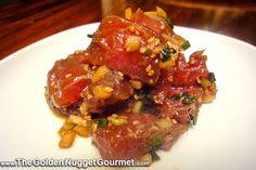 The Golden Nugget Gourmet: Hawaiian Ahi Poke