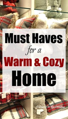 Must Haves for a Warm and Cozy Home - Cozy Shopping Finds Wrapping Ideas, Gift Wrapping, Christmas Scents, Real Christmas Tree, Warm And Cozy, Cozy Winter, Red Mug, Easy Diy Gifts, Farmhouse Style Decorating