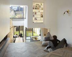 Woodnotes My sack chairs. Scenario House, London, 2016 - Scenario Architecture #beanbagchair #pouf #contemporary #modernhome #interiorinspiration #interiordesign #home #relax