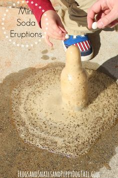 Mini Soda Eruptions Science for Kids