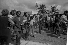 Democratic convention opens in Miami Beach Florida (McGovern)