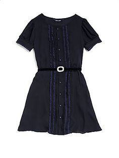 62371ca6afd Ralph Lauren - Girl s Pintuck Lace Dress