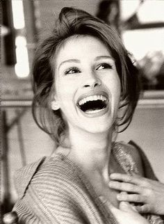 A little bit obsessed with Julia Roberts.