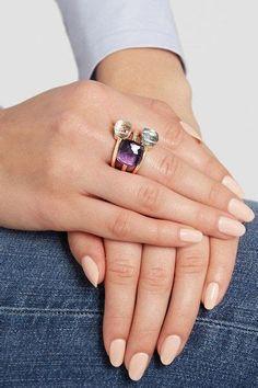 pomellato.nudo ring 3 atones - Yahoo Search Results Jewellery Nz, Gems Jewelry, Crystal Jewelry, Jewelry Accessories, Fashion Jewelry, Bijoux Design, Schmuck Design, Jewelry Design, Bijoux Or Rose