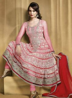 Sonali Bandre is the Indian film actress she is presenting an wonderful Anarkali dress with multi colors that is the masterpiece of the designers. Description from dressanarkali.com. I searched for this on bing.com/images