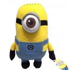 Peluche Stuart 70 cm Les Minions  Les Minions, retrouve tes personnages préférés en peluche géante !... prix : 29.99 EUR €  chez Auchan Jeux et Jouets #AuchanJeuxetJouets