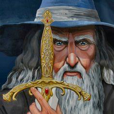 Gandalf - - Glamdring