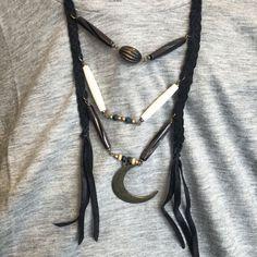 ECOSPHERE • ekologiska, etiska & klimatsmarta kläder & accessoarer - Free Spirit Shaking Soul - Wanderlust Necklace