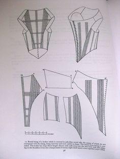Waugh 1660 bodice pattern