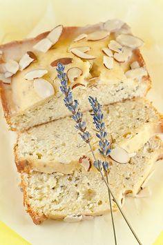 Meyer Lemon Lavender Pound Cake
