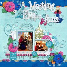 Meeting Elsa & Anna Kellybell Designs: Frozen Frozen Page Starters Frozen Paper Stack Frozen Journal Cards Frozen Word Art
