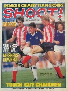 magazine for November 1980 featuring Leicester City v. Sunderland on the cover. Magazine Front Cover, Football Memorabilia, 80s Kids, Tough Guy, Yesterday And Today, Sunderland, Leicester, Football Shirts, World Cup
