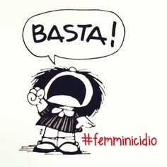 Anche Mafalda dice NO alla Violenza sulle DONNE