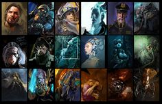 Lich King, Starcraft 2, Game Interface, Heroes Of The Storm, Stars Craft, Game Concept Art, Stone Heart, Character Portraits, Hero Arts