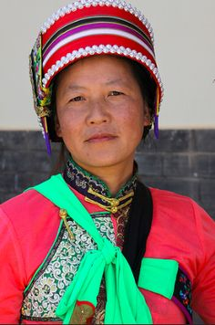 south yunnan / china  Yi tribal people in Chiling.