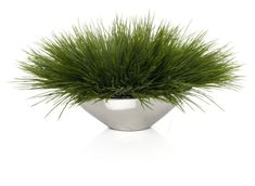 Z Gallerie - Grass In Silver Pot