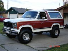 1984 Ford Bronco- had one almost identical to this. Served my family well!
