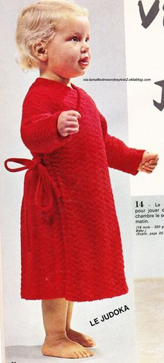 Tapis Chambre Bebe Garcon : robe chambre enfants patron gratuit  une robe de chambre pour enfants
