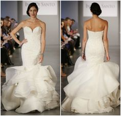 My favourite gown among many from the Ines Di Santo Spring 2014 Collection