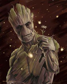 I Am Groot by brandiyorkart.deviantart.com on @DeviantArt