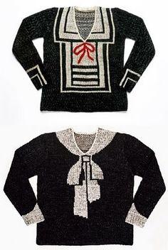 Elsa Schiaparelli....sweaters...