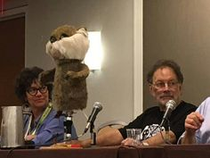 The Caddyshack gopher is a guest at #DragonCon2016. How cool is that? ----- Repost Kevin Eldridge: Puppeteer Pat Brymer AND THE CADDYSHACK GOPHER. #imalright #dragoncon