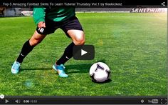 Top 5 amazing soccer skills tutorial. Check out! #soccer #soccerdrills #skills #football
