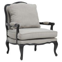 French Regency-style arm chair Tanya Joss & Main   ...