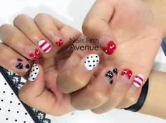 """22 Likes, 1 Comments - Nails Fifth Avenue  (@nailsfifthavenue) on Instagram: """"CDG's Play Inspired.  #nailsfifthavenue #nailsswag #mani #pedi #nailstagram #sgig #nailspiration…"""""""