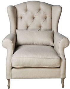 Hand crafted Philippe French Provincial armchair by Matt Blatt Chair And Ottoman, Wingback Chair, French Provincial Furniture, Ergonomic Chair, French Chic, French Country Decorating, Side Chairs, Room Chairs, Home Furniture