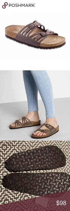 Birkenstock Granada Sandal Brown NWT Size 39 (9) Birkenstock Granada Sandal In Tobacco Brown NWT Size 39 (8.5 US). Brand new with tags. Oiled leather, soft footbed. Birkenstock Shoes Sandals