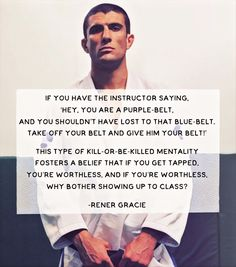 Rener Gracie Jiujitsu bjj Brazilian jiu jitsu mma UFC quote - Learn how I made it to in one months with e-commerce! Gracie Bjj, Jiu Jitsu Quotes, Mma Workout, Boxing Workout, Mma Videos, Fighter Quotes, Muay Thai Martial Arts, Bjj Memes, Martial Arts Quotes