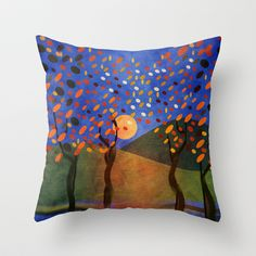 Once upon a time... Part II Throw Pillow by Viviana González - $20.00