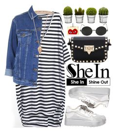 """""""Shein"""" by oshint ❤ liked on Polyvore featuring Topshop, Billabong, Comme des Garçons and Pamela Love"""