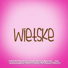 Wietske  (Voor meer inspiratie, en unieke geboortekaartjes kijk op www.heyboyheygirl.nl)