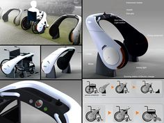 Wheelchairs are expensive and power wheelchairs can cost more than some fancy cars. The NEWS (New Electric Wheelchairs) by designer Ju Hyun Lee is designed to attach to any standard wheelchair to give it instant motorized power. #NMEDA