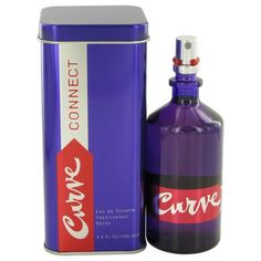 Curve Connect By Liz Claiborne Eau De Toilette Spray 3.4 Oz 457346