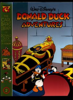 SEALED Walt Disney's Donald Duck Adventures The CARL BARKS Library of Donald Duck Adventures in Color #2 N M With Card