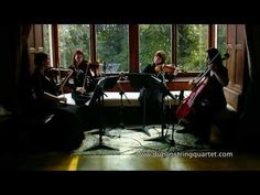 J.S. Bach: Air on a G String by the Dublin String Quartet.  A beautiful rendition of my most favourite piece.