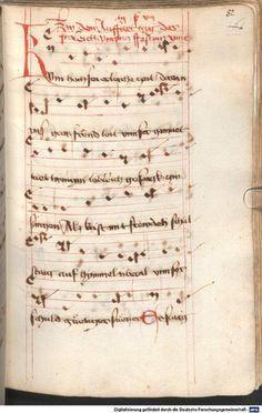 Mönch von Salzburg. Oswald von Wolkenstein: Geistliche Lieder mit Melodien Bayern/Österreich, erste Hälfte 15. Jh. Cgm 715  Folio 82