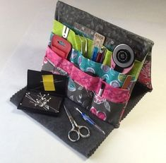 Sewing and Quilting Tool Stand Sewing Pattern by Sara Gray of Sew Together