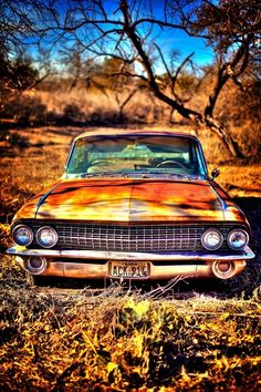 abandoned Cadillac by claireworx Background Images Hd, Picsart Background, Photo Backgrounds, Abandoned Cars, Abandoned Places, Cadillac, Rat Rods, Impression Poster, Rusty Cars