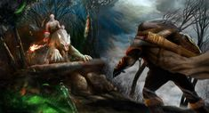 Azog vs Dwarf by Jan Hadzic