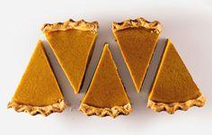 "GRANDMA'S PUMPKIN PIE 1.5 c pumpkin puree 2 lg eggs 1 c milk 1/2 c maple syrup 1 T flour 1 t cinnamon 1/2 t ground ginger 1/4 t kosher salt 9"" baked pie crust; 350*, 55 min."