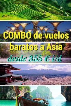 """MEGA-COMBO de #vuelos #baratos a #Asia! #Viajes a #Japón, #Vietnam, #CoreaDelSur, #Singapur o# Tailandia desde 355€ i/d!!! Chollooo! Varias fechas, Diciembre, Marzo, Abril o Mayo  ✈  http://misviajeslowcost.com/vuelos/combo-vuelos-baratos-a-asia/ ✈  Comparte!!! :D (Y recuerda, click en """"Ver vuelo"""" para comprobar precio) #viajes #viajar #ofertas"""