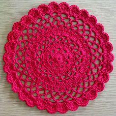 Hearty, Red Mandala