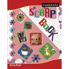 Classmate Scrap Book With Soft Cover: Pgs 32 — There is no child who doesn't like cutting up paper, peeling off stickers, or drawing pictures. Children love every opportunity to work with art supplies. Try channeling some of your child's creative energy into scrapbooking. Scrapbooking is a great way to spend time with your children, share your favorite hobby, and reinforce skills learned in school without them realizing it.