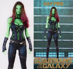 Gamora cosplay in 8 hours.