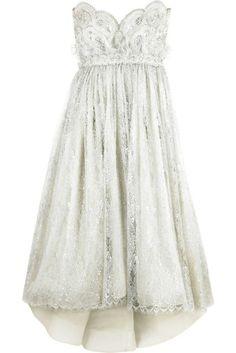 gorgeous reception dress!